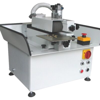 Buffing machine for small stamped products