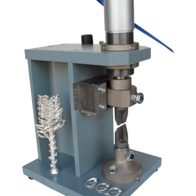 Pneumatic 750Kg shear for microcastings