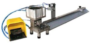 Pneumatic 450Kg shearing machine for cutting chain with bars