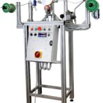 Chain measurement machine with separator