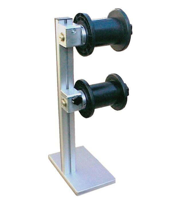 supporto per due bobine con cuscinetti 20 015 f macchine per gioiellieri orafi argentieri