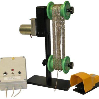 Electric skein decoiler